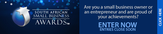 Enter your business South African Small Business Awards