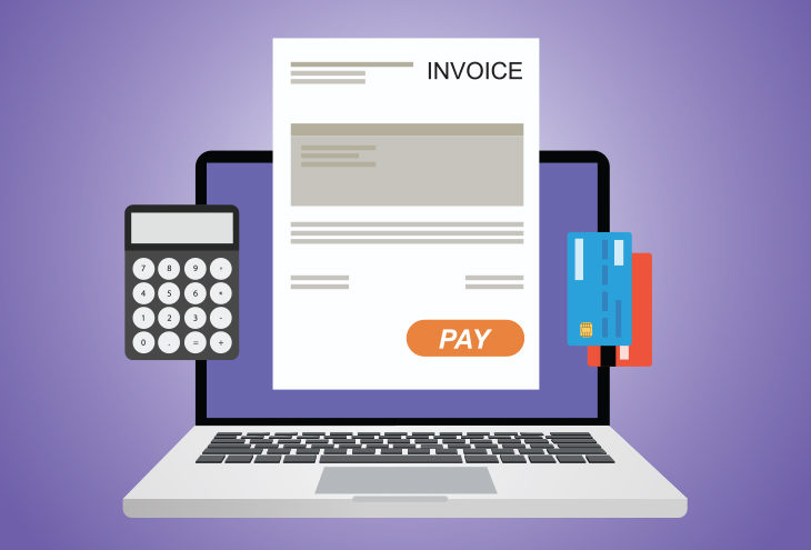 create a business invoice